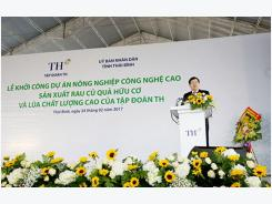 TH Group kicks off construction of new major hi-tech agricultural project